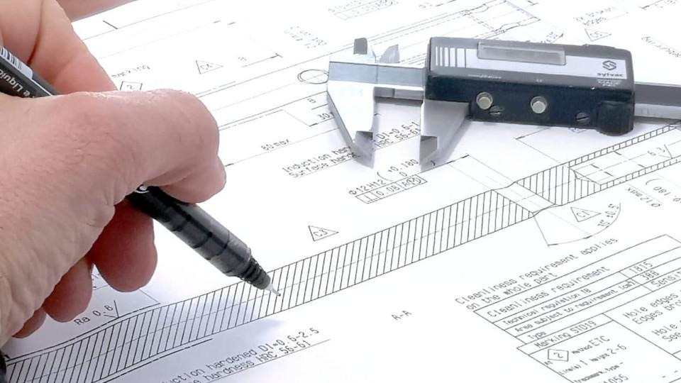 Disegno tecnico meccanico, trattamento superficiali di nichel chimico ed elettrolitici
